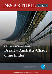 DBS Aktuell 01/2019 - Titelbild: Brexit - Austritts-Chaos ohne Ende?