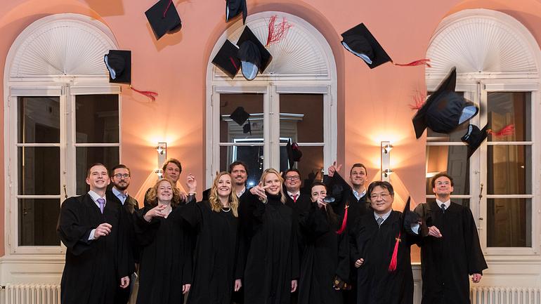 Akademische Masterfeier – MBA XV/ 2017